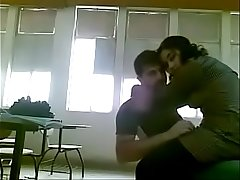 Indian Sex University Couple Fucking In Their Class Room